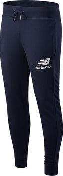 New Balance Essentials Stacked Logo Trainerhose Herren Blau