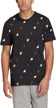 adidas Must Haves Graphic 2 T-Shirt Hommes Noir