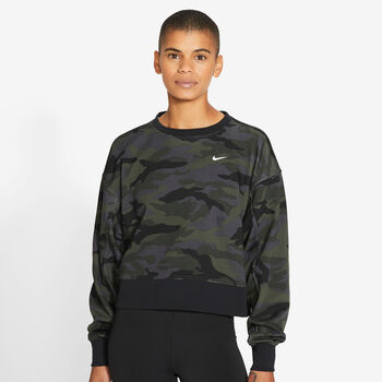 Nike Dri-FIT PP2 Sweatshirt Damen Grau