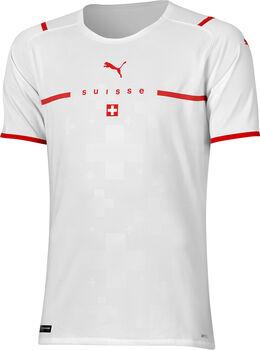 Puma SFV Schweiz Away Original EM 2021-22 EM Fussballtrikot Herren Weiss