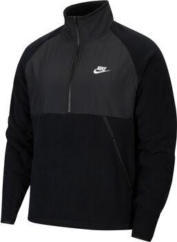 Nike Sportswear half-Zip Fleece Hommes Noir