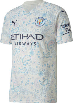 Puma Manchester City 3R Replica maillot de football Hommes Blanc