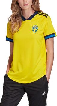 adidas Schweden Home Fussballtrikot Damen Gelb