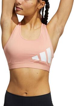 adidas Believe This Workout Logo Sport BH Damen Blau