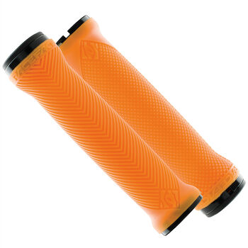 Race Face LOVEHANDLE GRIPS LOCK-ON Bikegriffe Orange