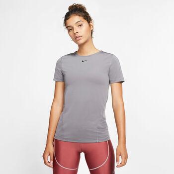 Nike Pro All Over Trainingsshirt Damen Grau