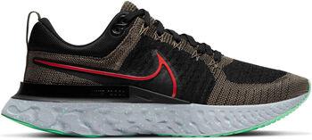 Nike React Infinity Flyknit 2 Laufschuh Herren Schwarz