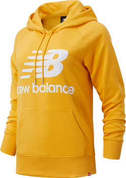 New Balance Essentials Pullover Hoody Damen Gelb