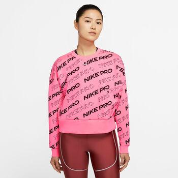 Nike Pro Sweatshirt Damen Pink