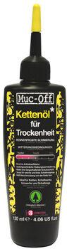 Muc-Off Bike Kettenöl für Trockenheit 120 ml Mehrfarbig