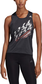 ADIDAS Speed Tank Top Damen Schwarz