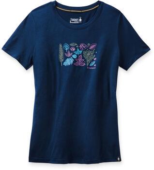 Smartwool Merino Sport 150 Wandershirt Damen Blau