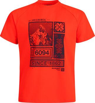 MAMMUT Mountain T-Shirt Herren Rot