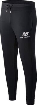 New Balance Essentials Stacked Logo pantalon de training Hommes Noir