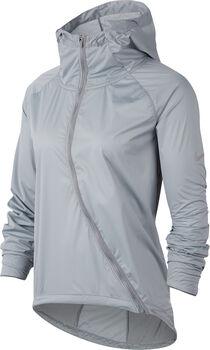 Nike Shield Laufjacke langarm Damen Grau