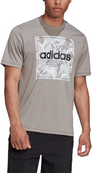 adidas Camouflage Box t-shirt Hommes Gris