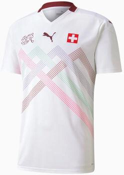 Puma SFV Schweiz Away Fussballtrikot Herren Weiss