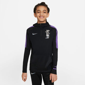 Nike Dri-FIT Kylian Mbappé Hoody Schwarz
