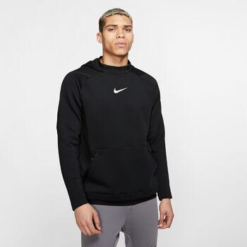 Nike PRO Fleece Hoody Herren Schwarz