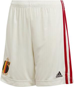 adidas Belgium Away Replica short de football Blanc