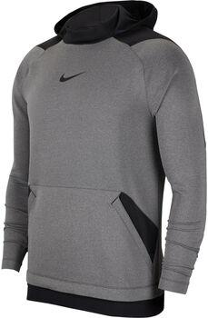Nike PRO Fleece Hoody Hommes Gris