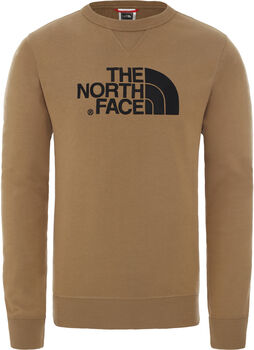 The North Face DREW PEAK CREW Pullover Herren Braun