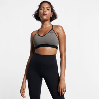Nike Indy Light Support Sport BH Damen Grau