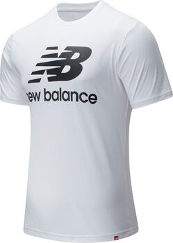 New Balance Essentials Stacked Logo T-Shirt Herren Weiss