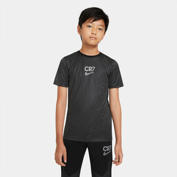 Nike Dir-FIT CR7 Big T-Shirt Jungs Schwarz