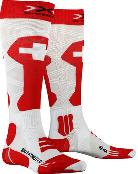 X-Socks SKI PATRIOT 4.0 Skisocken Rot