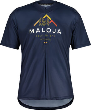 Maloja SchwarzerleM. All Mountain Bikeshirt Herren Blau