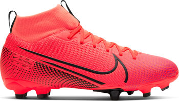 Nike JR SUPERFLY 7 ACADEMY FG/MG chaussure de football  Rouge