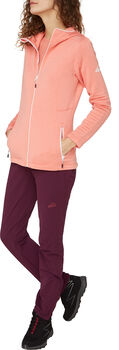 McKINLEY Aami Hooded Fleecejacke Damen Rot