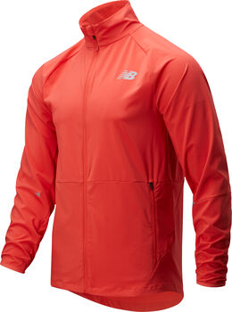New Balance Impact Run Windbreaker Herren Rot
