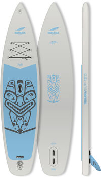Indiana 12'0 Family Pack GREY Stand Up Paddle Grau