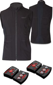 Lenz Set Lithium pack rcB 1800 + 1.0 gilet thermique Hommes Noir