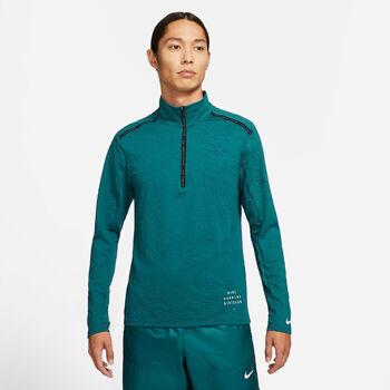 Nike Dri-FIT Element haut de running à manches longues Hommes Bleu