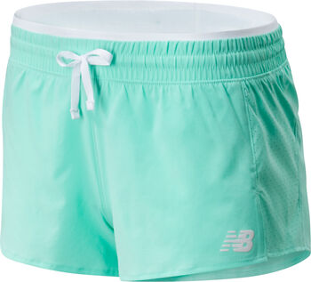 New Balance Fast Flight Split Shorts Damen Grün