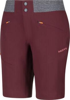 Radys R4W hiking softshell Shorts  Damen Rot