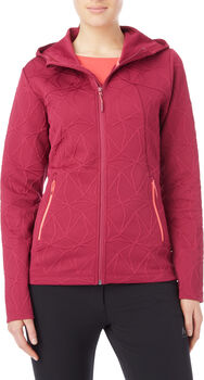 McKINLEY Amiata Fleece Jacke Damen Rot