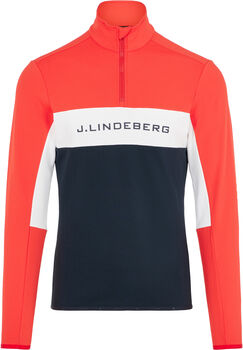 J.Lindeberg Kimball Striped Jacke Herren Rot