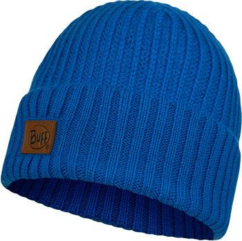 Buff Knitted Bonnet Bleu