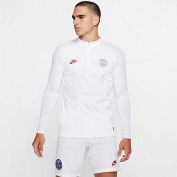 Nike PSG VaporKnit Strike Fussball-Trainingsshirt Herren Weiss
