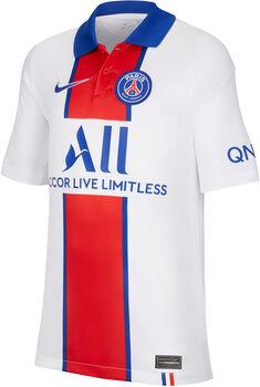 Nike PSG 20/21 Stadium Away maillot de football Blanc