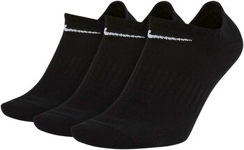 Nike Everyday Lightweight No-Show Socken Schwarz