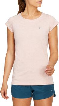 ASICS RACE SEAMLESS Shirt running à manches courtes Femmes Rose