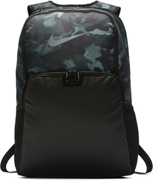 Nike Brasilia 9.0 Printed sac à dos Gris