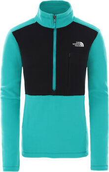 The North Face QZ Fleecejacke Damen Grün
