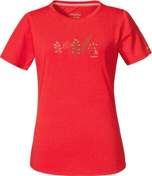 SCHÖFFEL Swakopmund1 T-Shirt Femmes Rouge
