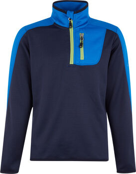 McKINLEY Blake Rollkragen Skishirt langarm Jungs Blau